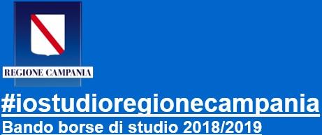 #iostudioregionecampania Bando borse di studio 2018/2019