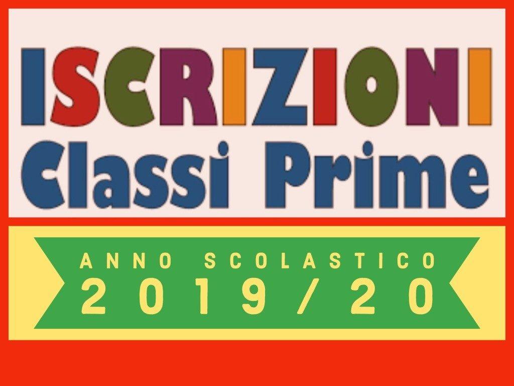 Iscrizioni Classi Prime