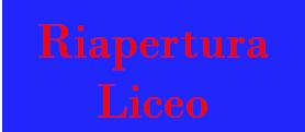 Riapertura Liceo