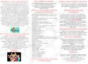 Retro brochure